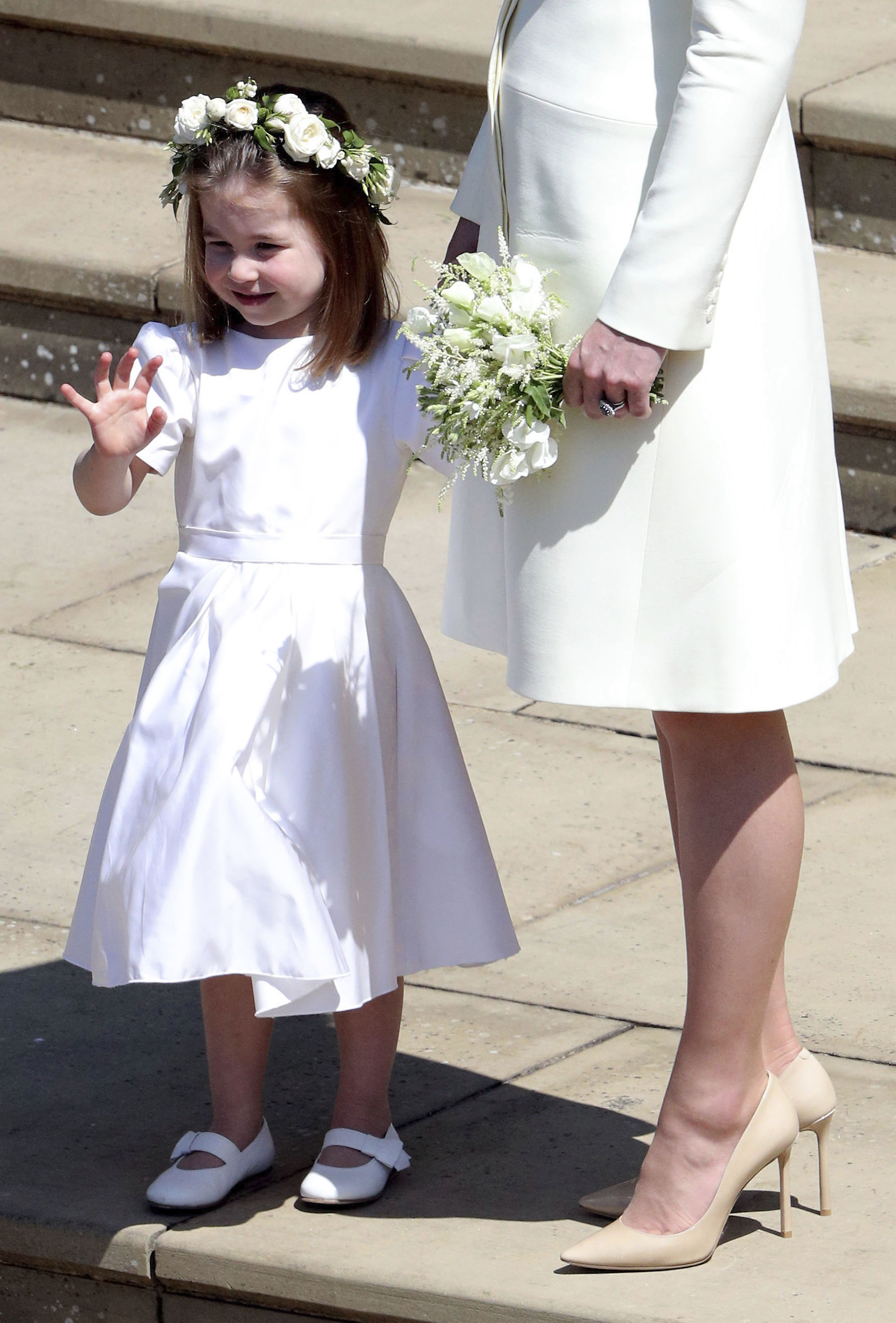 <div class='meta'><div class='origin-logo' data-origin='Creative Content'></div><span class='caption-text' data-credit='Andrew Matthews/PA Wire'>Princess Charlotte after the wedding of Prince Harry and Meghan Markle at Windsor Castle.</span></div>