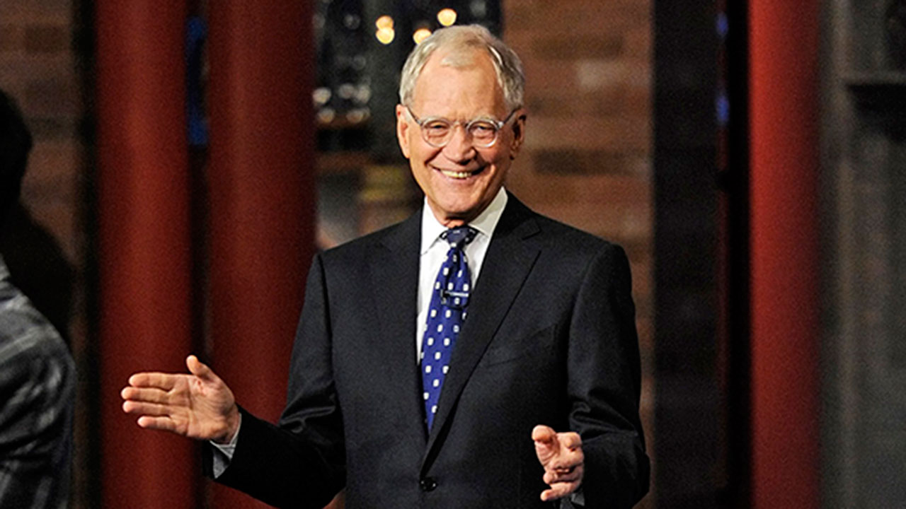 david letterman newspaper
