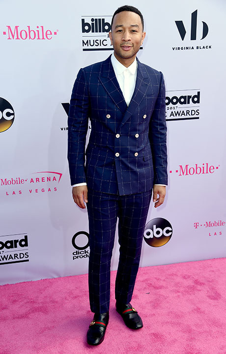 "<div class=""meta image-caption""><div class=""origin-logo origin-image none""><span>none</span></div><span class=""caption-text"">John Legend arrives at the Billboard Music Awards at the T-Mobile Arena on Sunday, May 21, 2017, in Las Vegas. (Richard Shotwell/Invision/AP)</span></div>"