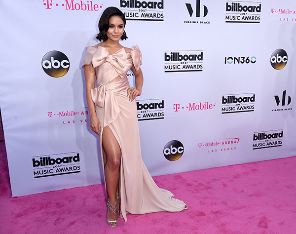 "<div class=""meta image-caption""><div class=""origin-logo origin-image none""><span>none</span></div><span class=""caption-text"">Vanessa Hudgens arrives at the Billboard Music Awards at the T-Mobile Arena on Sunday, May 21, 2017, in Las Vegas. (Richard Shotwell/Invision/AP)</span></div>"