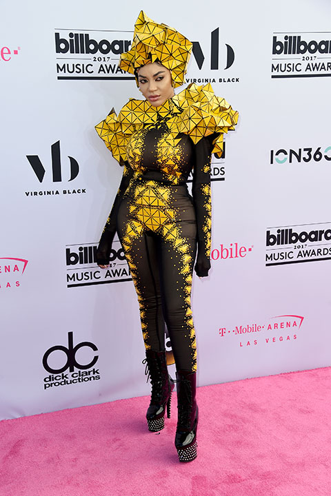 "<div class=""meta image-caption""><div class=""origin-logo origin-image none""><span>none</span></div><span class=""caption-text"">Dencia arrives at the Billboard Music Awards at the T-Mobile Arena on Sunday, May 21, 2017, in Las Vegas. (Richard Shotwell/Invision/AP)</span></div>"