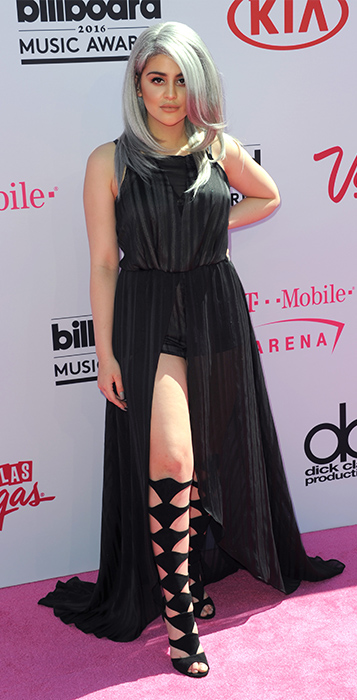 "<div class=""meta image-caption""><div class=""origin-logo origin-image ap""><span>AP</span></div><span class=""caption-text"">Lauren Giraldo arrives at the Billboard Music Awards at the T-Mobile Arena on Sunday, May 22, 2016, in Las Vegas. (Richard Shotwell/Invision/AP)</span></div>"