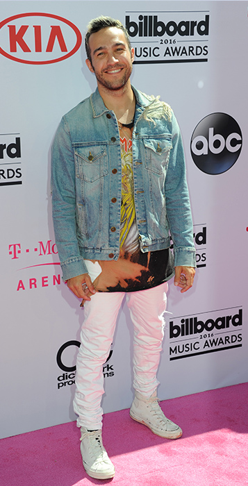"<div class=""meta image-caption""><div class=""origin-logo origin-image ap""><span>AP</span></div><span class=""caption-text"">Pete Wentz arrives at the Billboard Music Awards at the T-Mobile Arena on Sunday, May 22, 2016, in Las Vegas. (Richard Shotwell/Invision/AP)</span></div>"