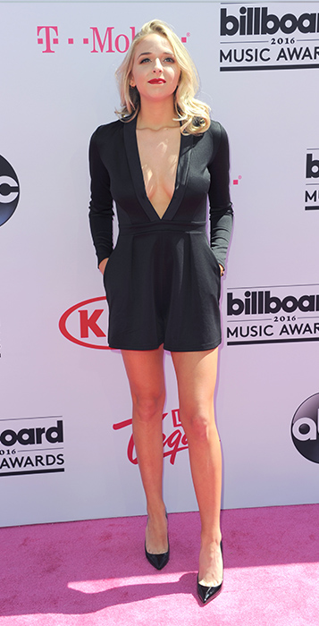 "<div class=""meta image-caption""><div class=""origin-logo origin-image ap""><span>AP</span></div><span class=""caption-text"">Jenn McAllister arrives at the Billboard Music Awards at the T-Mobile Arena on Sunday, May 22, 2016, in Las Vegas. (Richard Shotwell/Invision/AP)</span></div>"