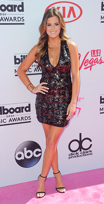 "<div class=""meta image-caption""><div class=""origin-logo origin-image ap""><span>AP</span></div><span class=""caption-text"">JoJo Fletcher arrives at the Billboard Music Awards at the T-Mobile Arena on Sunday, May 22, 2016, in Las Vegas. (Richard Shotwell/Invision/AP)</span></div>"