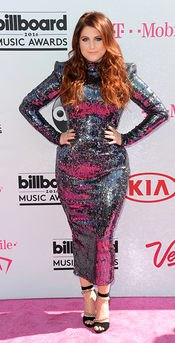 "<div class=""meta image-caption""><div class=""origin-logo origin-image ap""><span>AP</span></div><span class=""caption-text"">Meghan Trainor arrives at the Billboard Music Awards at the T-Mobile Arena on Sunday, May 22, 2016, in Las Vegas. (Richard Shotwell/Invision/AP)</span></div>"