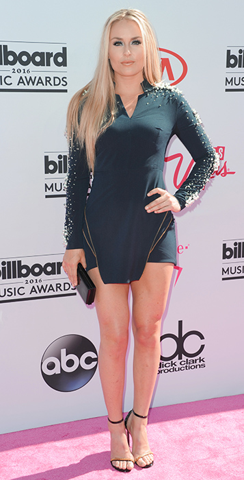 "<div class=""meta image-caption""><div class=""origin-logo origin-image ap""><span>AP</span></div><span class=""caption-text"">Lindsey Vonn arrives at the Billboard Music Awards at the T-Mobile Arena on Sunday, May 22, 2016, in Las Vegas. (Richard Shotwell/Invision/AP)</span></div>"