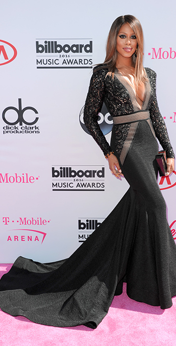 "<div class=""meta image-caption""><div class=""origin-logo origin-image ap""><span>AP</span></div><span class=""caption-text"">Laverne Cox arrives at the Billboard Music Awards at the T-Mobile Arena on Sunday, May 22, 2016, in Las Vegas. (Richard Shotwell/Invision/AP)</span></div>"