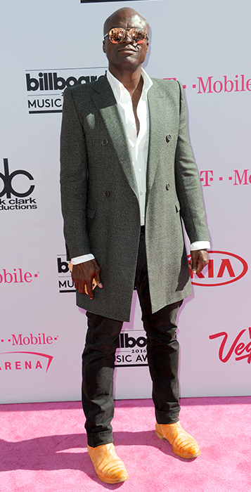 "<div class=""meta image-caption""><div class=""origin-logo origin-image ap""><span>AP</span></div><span class=""caption-text"">Seal arrives at the Billboard Music Awards at the T-Mobile Arena on Sunday, May 22, 2016, in Las Vegas. (Richard Shotwell/Invision/AP)</span></div>"