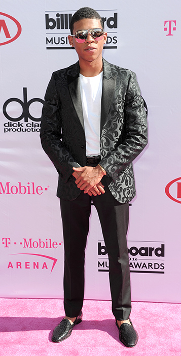 "<div class=""meta image-caption""><div class=""origin-logo origin-image ap""><span>AP</span></div><span class=""caption-text"">Bryshere Y. Gray arrives at the Billboard Music Awards at the T-Mobile Arena on Sunday, May 22, 2016, in Las Vegas. (Richard Shotwell/Invision/AP)</span></div>"