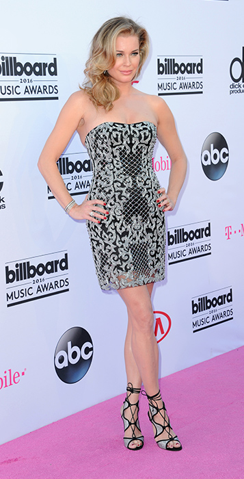 "<div class=""meta image-caption""><div class=""origin-logo origin-image ap""><span>AP</span></div><span class=""caption-text"">Rebecca Romijn arrives at the Billboard Music Awards at the T-Mobile Arena on Sunday, May 22, 2016, in Las Vegas. (Richard Shotwell/Invision/AP)</span></div>"