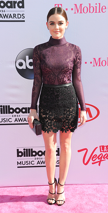 "<div class=""meta image-caption""><div class=""origin-logo origin-image ap""><span>AP</span></div><span class=""caption-text"">Lucy Hale arrives at the Billboard Music Awards at the T-Mobile Arena on Sunday, May 22, 2016, in Las Vegas. (Richard Shotwell/Invision/AP)</span></div>"