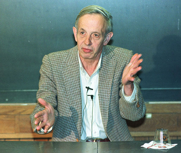 <div class='meta'><div class='origin-logo' data-origin='none'></div><span class='caption-text' data-credit='Photo/CHARLES REX ARBOGAST'>Josh Nash, the mathematician whose life inspired the film ''A Beautiful Mind,'' died May 23 after a taxi crash. His wife, Alicia Nash, was also a passenger killed in the crash.</span></div>