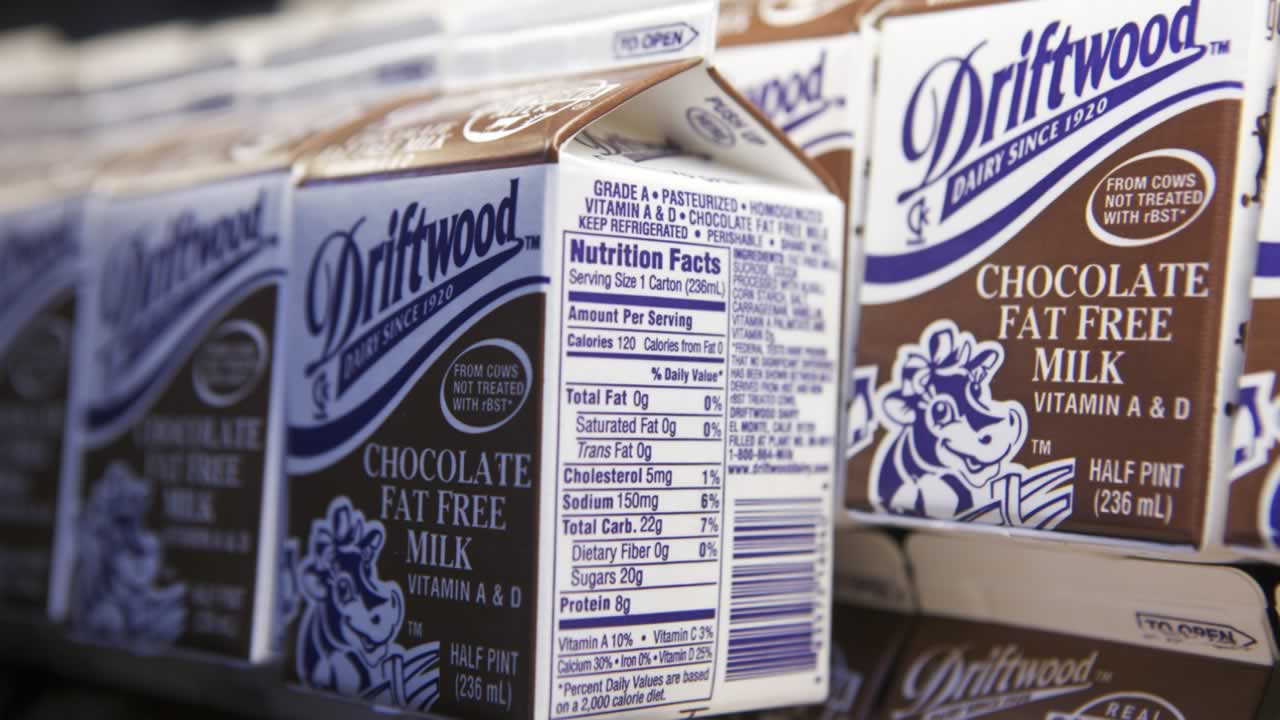 July 28- National Chocolate Milk Day:  Because chocolate milk is both delicious AND nutritious -- at least that&#39;s what we tell ourselves. <span class=meta>(Damian Dovarganes&#47;AP)</span>