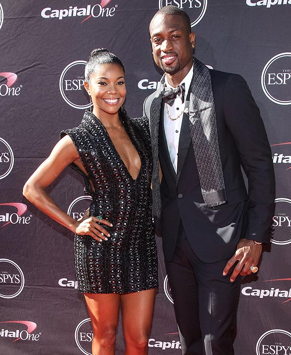 "<div class=""meta image-caption""><div class=""origin-logo origin-image ap""><span>AP</span></div><span class=""caption-text"">Miami Heat guard Dwayne Wade and actress Gabrielle Union -- married August 30, 2014. (AP)</span></div>"