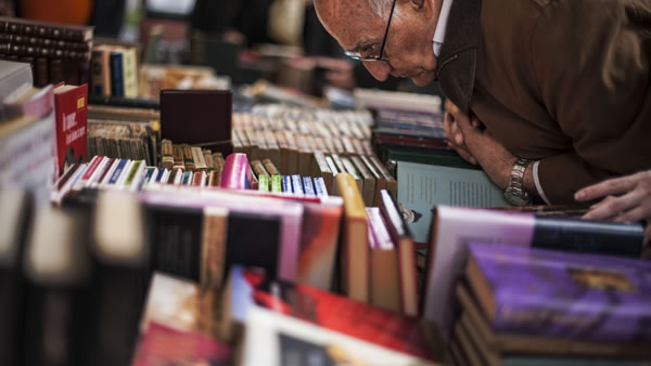 August 9- Book Lovers Day:  Today is a day to grab a book and get reading -- get your bookworm on!  If you fall asleep, it&#39;s okay.  <span class=meta>(AP Photo&#47;Alvaro Barrientos)</span>