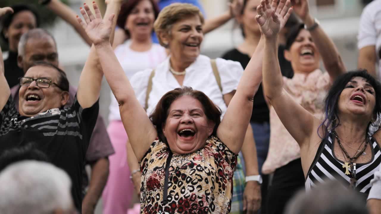 April 14- International Moment of Laughter Day:  What&#39;s important about today is that you try to bring about laughter &#40;and happiness&#41; to those you come in contact with. <span class=meta>(AP Photo&#47;Ariana Cubillos)</span>
