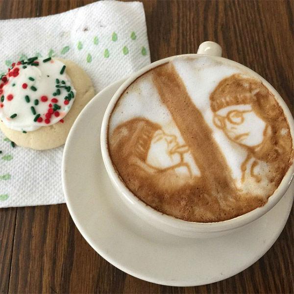 COFFEE LOVE: Unbelievable portraits drawn in latte foam | abc7ny.com