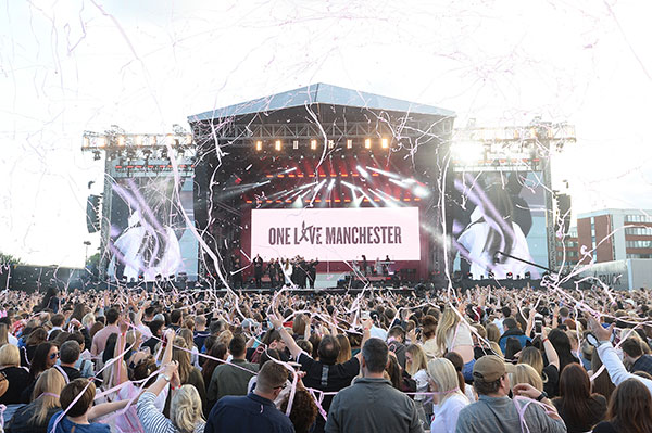 "<div class=""meta image-caption""><div class=""origin-logo origin-image none""><span>none</span></div><span class=""caption-text"">In this handout provided by 'One Love Manchester' benefit concert Ariana Grande performs on stage on June 4, 2017 in Manchester, England. (Getty Images/Dave Hogan for One Love Manchester)</span></div>"