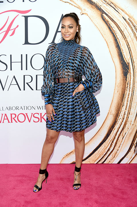 "<div class=""meta image-caption""><div class=""origin-logo origin-image kabc""><span>kabc</span></div><span class=""caption-text"">La La Anthony arrives at the CFDA Fashion Awards on Monday, June 6, 2016, in New York. (Evan Agostini/Invision/AP)</span></div>"