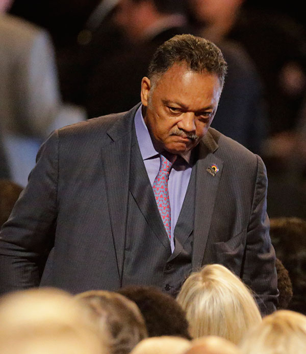 "<div class=""meta image-caption""><div class=""origin-logo origin-image none""><span>none</span></div><span class=""caption-text"">Jesse Jackson arrives for Muhammad Ali's memorial service, Friday, June 10, 2016, in Louisville, Ky. (David Goldman/AP Photo)</span></div>"