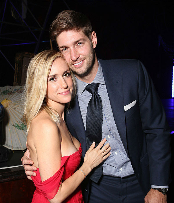 <div class='meta'><div class='origin-logo' data-origin='none'></div><span class='caption-text' data-credit='Getty'>Kristin Cavallari and Jay Cutler attend the JDRF LA 2015 Imagine Gala at the Hyatt Regency Century Plaza on May 9, 2015 in Century City, Calif.</span></div>