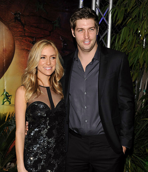 <div class='meta'><div class='origin-logo' data-origin='none'></div><span class='caption-text' data-credit='Getty'>Kristin Cavallari and Jay Cutler arrive at the Cirque du Soleil 'OVO' Celebrity Opening Night Gala at Santa Monica Pier on January 20, 2012 in Santa Monica, Calif.</span></div>