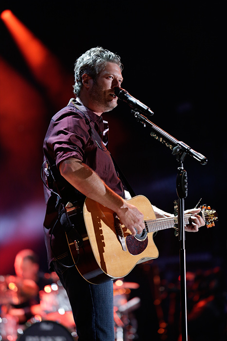 "<div class=""meta image-caption""><div class=""origin-logo origin-image none""><span>none</span></div><span class=""caption-text"">Blake Shelton performs at Nissan Stadium on Saturday, June 11 at the 2016 CMA Music Festival in downtown Nashville. (Dusty Draper/CMA)</span></div>"
