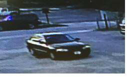 <div class='meta'><div class='origin-logo' data-origin='none'></div><span class='caption-text' data-credit='Photo/City of Charleston Police Department'>The suspect was seen leaving in this black four-door sudan, police said. Anyone with information should call  1-800-CALL- FBI (1-800-225-5324).</span></div>