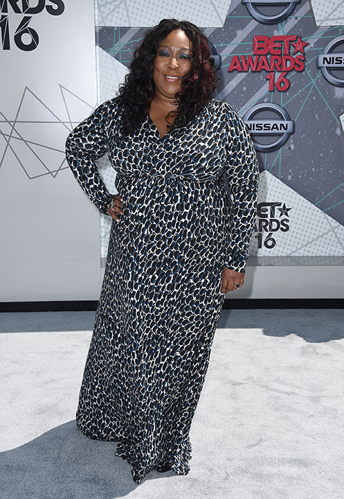 "<div class=""meta image-caption""><div class=""origin-logo origin-image none""><span>none</span></div><span class=""caption-text"">Loni Love arrives at the BET Awards on Sunday in Los Angeles. (Jordan Strauss/Invision/AP)</span></div>"