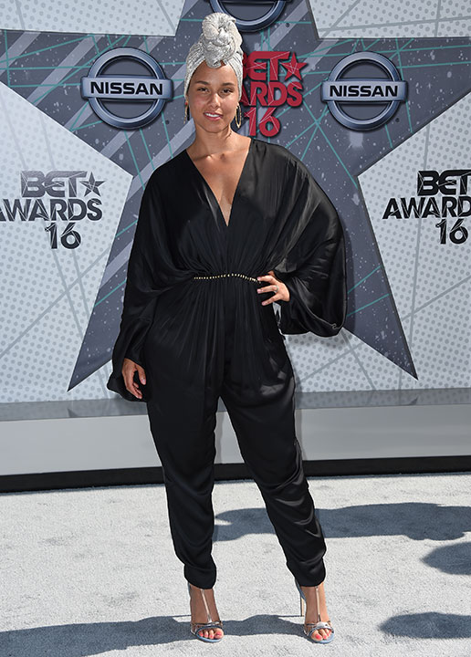 "<div class=""meta image-caption""><div class=""origin-logo origin-image none""><span>none</span></div><span class=""caption-text"">Alicia Keys arrives at the BET Awards on Sunday in Los Angeles. (Jordan Strauss/Invision/AP)</span></div>"