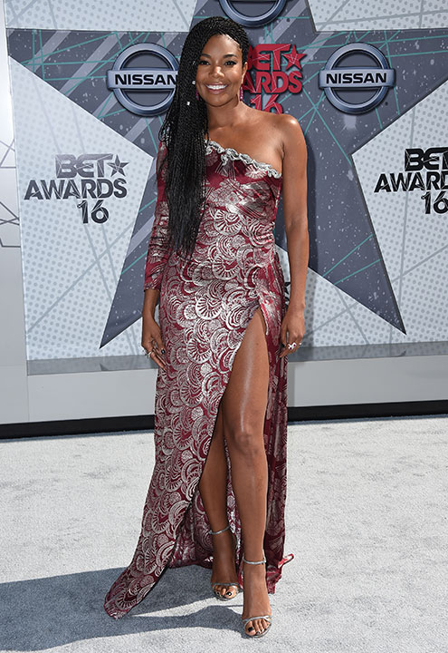 "<div class=""meta image-caption""><div class=""origin-logo origin-image none""><span>none</span></div><span class=""caption-text"">Gabrielle Union arrives at the BET Awards on Sunday in Los Angeles. (Jordan Strauss/Invision/AP)</span></div>"