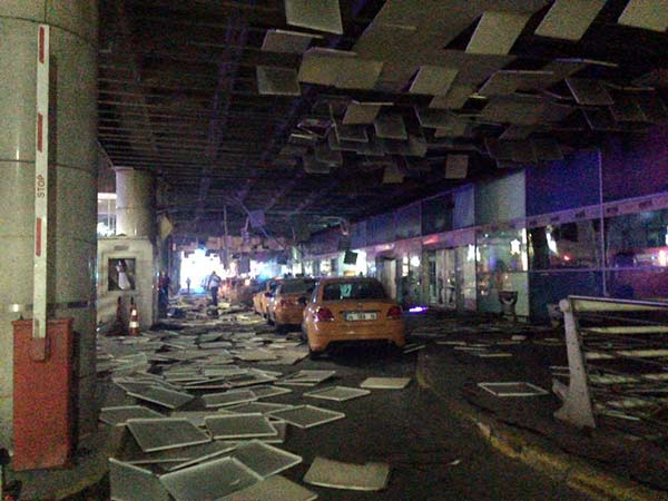 "<div class=""meta image-caption""><div class=""origin-logo origin-image ap""><span>AP</span></div><span class=""caption-text"">An entrance of the Ataturk Airport in Istanbul after explosions, Tuesday, June 28, 2016. (DHA via AP)</span></div>"
