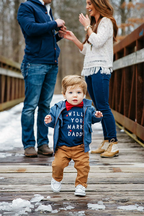 "<div class=""meta image-caption""><div class=""origin-logo origin-image none""><span>none</span></div><span class=""caption-text"">The wedding is planned for next May, and Hannah said Jace will ""definitely be in our wedding. Most likely our ring bearer, and stand with us during the ceremony."" (Lindsay Blum, Gilded Light Photography)</span></div>"