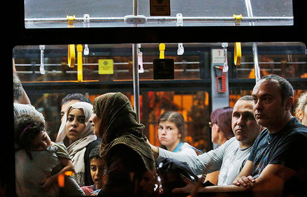 "<div class=""meta image-caption""><div class=""origin-logo origin-image none""><span>none</span></div><span class=""caption-text"">A flight's passengers leave on a bus from Istanbul's Ataturk airport, early Wednesday, June 29, 2016 following their evacuation after a blast. (Emrah Gurel/AP Photo)</span></div>"
