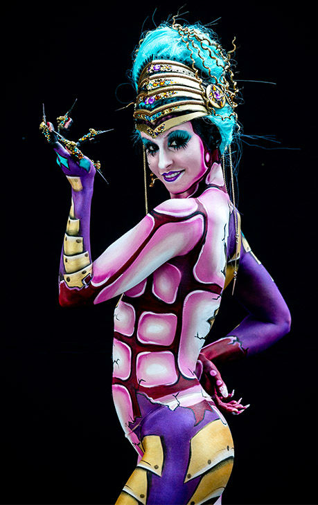 "<div class=""meta image-caption""><div class=""origin-logo origin-image none""><span>none</span></div><span class=""caption-text"">More than 30,000 visitors attended the 18th annual World Bodypainting Festival, which calls itself ""a melting pot of artistic performances, body art, art, music and lifestyle."" (Jan Hetfleisch/Getty Images)</span></div>"