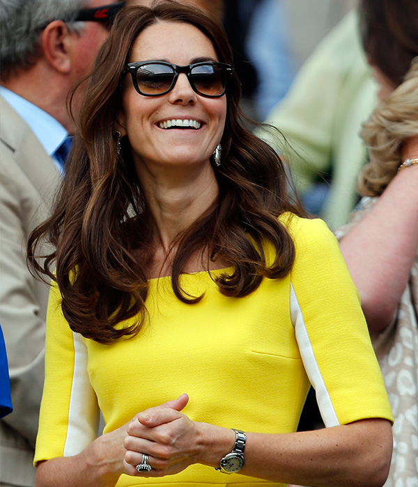 "<div class=""meta image-caption""><div class=""origin-logo origin-image ap""><span>AP</span></div><span class=""caption-text"">Kate, the Duchess of Cambridge, takes a seat in the Royal Box on day eleven of the Wimbledon Tennis Championships in London, Thursday, July 7, 2016. (AP Photo/Ben Curtis, pool)</span></div>"