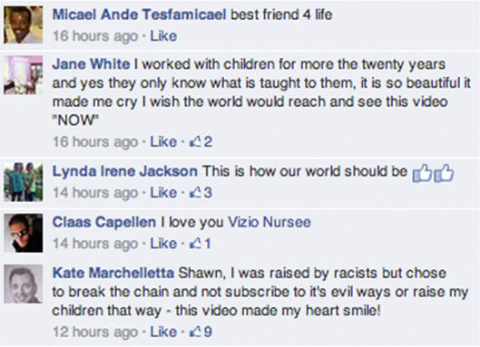 Facebook commenters express their joy over Tyler's welcome back. <span class=meta>Shawn Harris / Facebook</span>