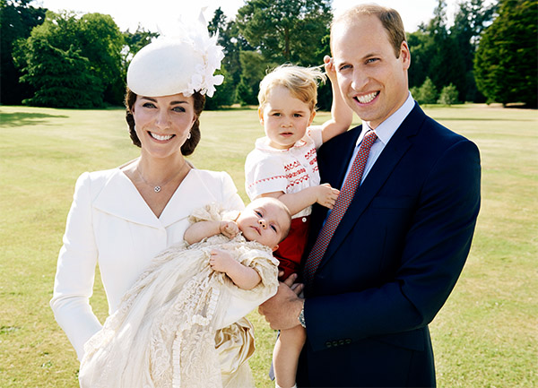 "<div class=""meta image-caption""><div class=""origin-logo origin-image none""><span>none</span></div><span class=""caption-text"">Prince William and his wife, Kate, pose for a photo with their children after the christening of Princess Charlotte at the Sandringham Estate on July 5, 2015. (Getty Images)</span></div>"