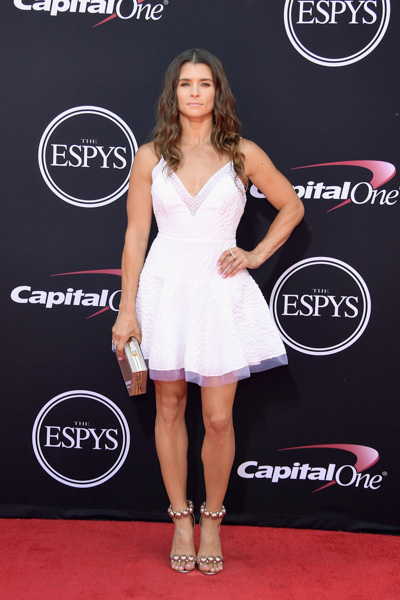 <div class='meta'><div class='origin-logo' data-origin='none'></div><span class='caption-text' data-credit='Matt Winkelmeyer/Getty Images'>LOS ANGELES, CA - JULY 12:  Race car driver Danica Patrick attends The 2017 ESPYS at Microsoft Theater on July 12, 2017 in Los Angeles, California.</span></div>