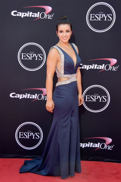 <div class='meta'><div class='origin-logo' data-origin='none'></div><span class='caption-text' data-credit='Matt Winkelmeyer/Getty Images'>Paralympic swimmer Victoria Arlen attends The 2017 ESPYS at Microsoft Theater on July 12, 2017 in Los Angeles, California.</span></div>