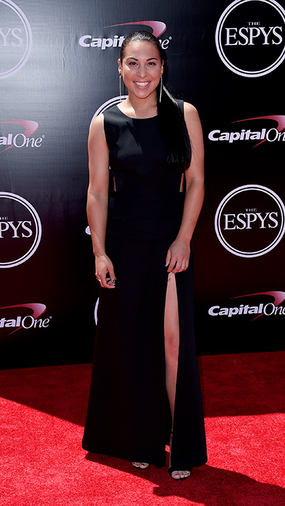 "<div class=""meta image-caption""><div class=""origin-logo origin-image ap""><span>AP</span></div><span class=""caption-text"">American softball player Sierra Romero arrives at the ESPY Awards at the Microsoft Theater on Wednesday, July 13, 2016, in Los Angeles. (Jordan Strauss/Invision/AP)</span></div>"