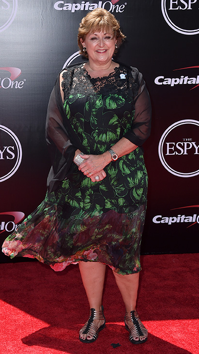 "<div class=""meta image-caption""><div class=""origin-logo origin-image ap""><span>AP</span></div><span class=""caption-text"">Susan Braun, CEO of the V foundation, arrives at the ESPY Awards at the Microsoft Theater on Wednesday, July 13, 2016, in Los Angeles. (Jordan Strauss/Invision/AP)</span></div>"