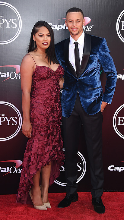 "<div class=""meta image-caption""><div class=""origin-logo origin-image ap""><span>AP</span></div><span class=""caption-text"">Stephen Curry, of the Golden State Warriors, right, and Ayesha Curry arrive at the ESPY Awards at the Microsoft Theater on Wednesday, July 13, 2016, in Los Angeles. (Jordan Strauss/Invision/AP)</span></div>"