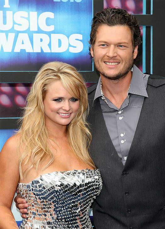 In this June 9, 2010 file photo, Miranda Lambert and Blake Shelton ...