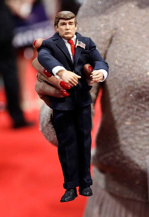 <div class='meta'><div class='origin-logo' data-origin='none'></div><span class='caption-text' data-credit='John Locher/AP Photo'>A Pennsylvania delegate holds up a figure of Republican Presidential Candidate Donald Trump during the second day session of the Republican National Convention.</span></div>