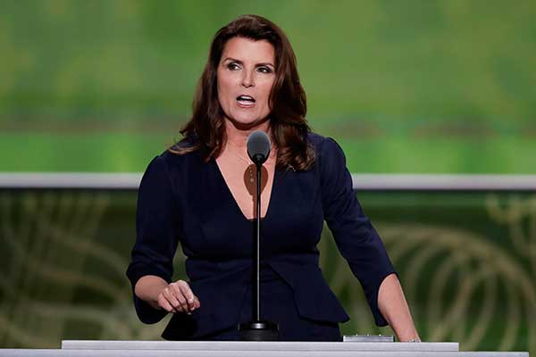 <div class='meta'><div class='origin-logo' data-origin='none'></div><span class='caption-text' data-credit='J. Scott Applewhite/AP Photo'>Actor Kimberlin Brown and farmer speaks during the second day of the Republican National Convention in Cleveland</span></div>