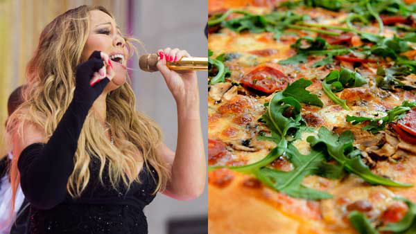 "<div class=""meta image-caption""><div class=""origin-logo origin-image ""><span></span></div><span class=""caption-text"">When it comes to food, Mariah Carey has a favorite: pizza. The only thing is, she can't eat it, she told Now Magazine. (AP, Dirk Vorderstrasse)</span></div>"