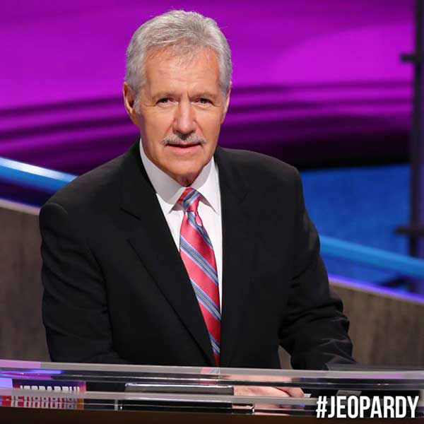 Clever Jeopardy Categories: PHOTOS: Alex Trebek -- And His Mustache -- Through The