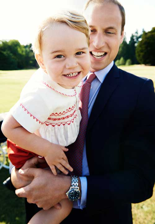 "<div class=""meta image-caption""><div class=""origin-logo origin-image none""><span>none</span></div><span class=""caption-text"">This photo of Prince George and Prince William was released in honor of George's second birthday on July 22. The photo was taken at the christening of Princess Charlotte. (AP/Mario Testino/Art Partner/Kensington Palace)</span></div>"